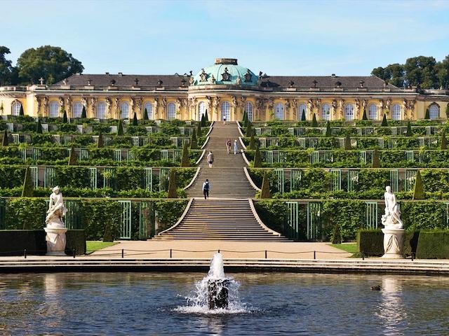 Palácios da excursão de Potsdam em Berlim