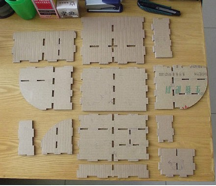 картон, коробки, мастер-класс, органайзер из картона, для канцелярии, для офиса, для детей, подставка для канцелярии, своими руками, мастер-класс,Настольный органайзер из картона (МК) http://handmade.parafraz.space/ http://prazdnichnymir.ru/