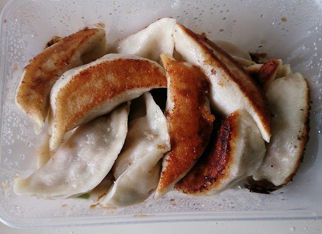 Ramen & Dumpling House, pan fried pork dumplings