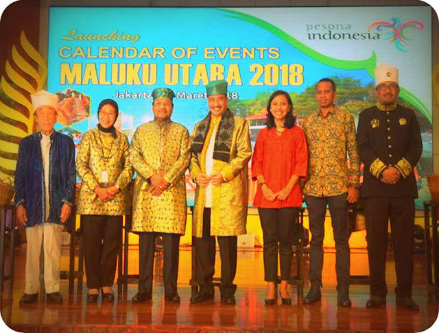 Launching Calendar of Event North Maluku 2018, Arief Yahya Affirm Main Criteria