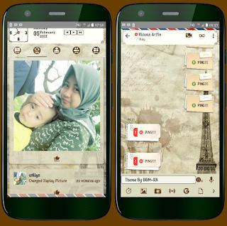 BBM Mod Paris Story V3.2.5.12 Apk
