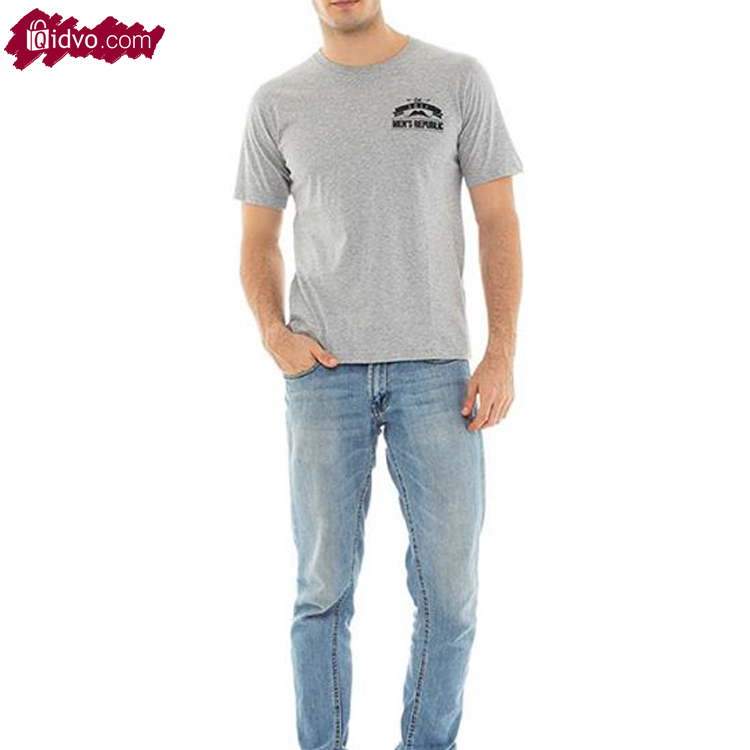 Kaos Lengan Pendek Mens Republic Alabama - Grey