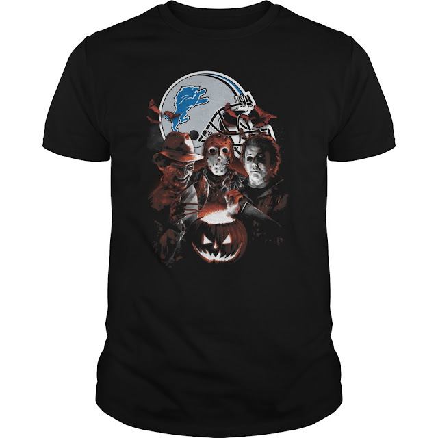 Detroit Lions Halloween Scream Team Shirt