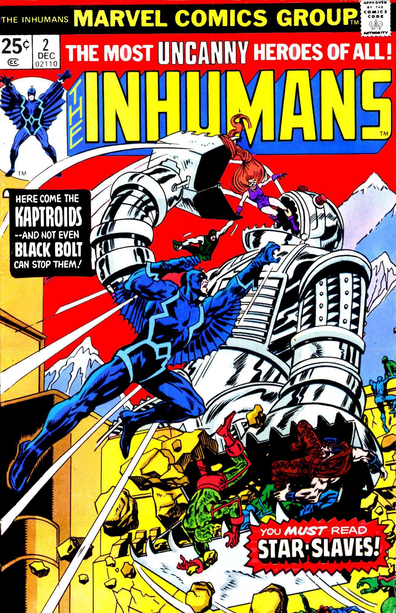 Inhumans (1975) issue 2 - Page 1
