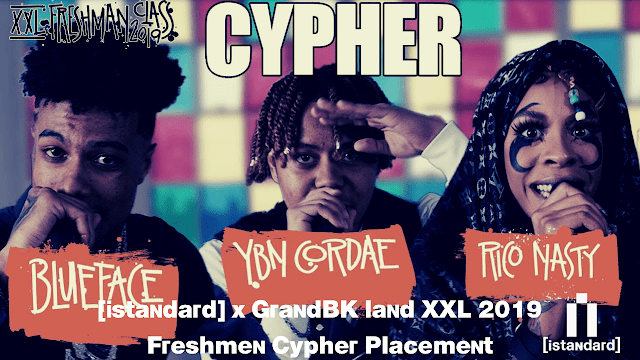 [istandard] x GrandBK land XXL 2019 Freshmen Cypher Placement