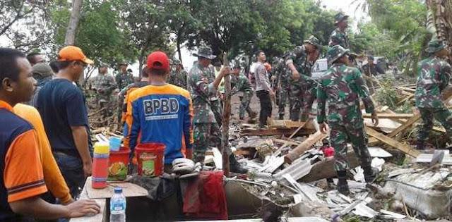 Update Tsunami Selat Sunda, 281 Meninggal, 1.016 Luka-Luka Dan 57 Hilang