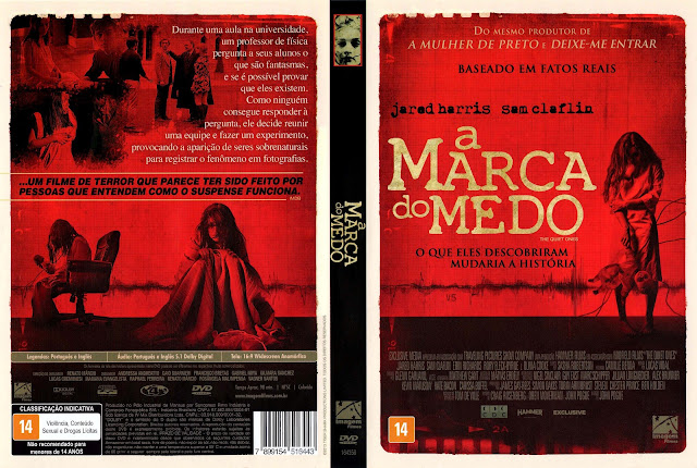 Capa DVD A Marca do Medo