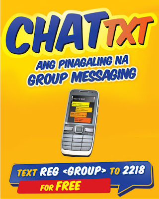 Group Chat text Talk n Text Promo