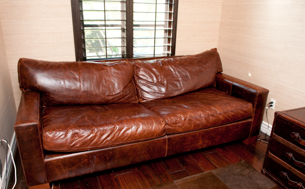 Heygreenie Rh Maxwell Leather Sleeper La Sold. Restoration Hardware  Kensington Sofa ...