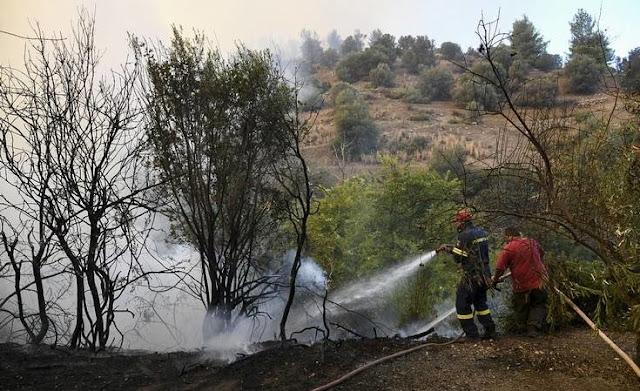 Ευχάριστα τα νέα από την Εύβοια: Η πυροσβεστική εκτιμά ότι η πυρκαγιά θα έχει κατασβεστεί πλήρως τις επόμενες ώρες
