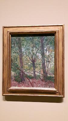 Van Gogh in den Wäldern von Paris