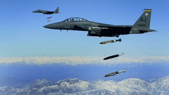 More bombs was dropped by the US in Afghanistan last month than any time since 2010: Air Force