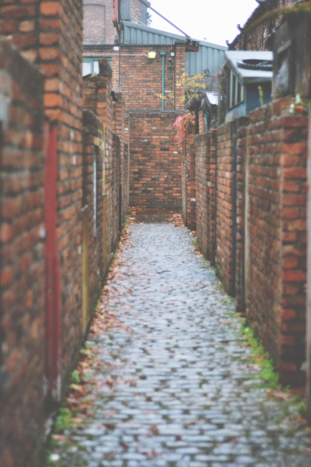 Coronation Street back alley