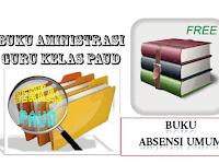 Download Contoh Buku Absensi siswa