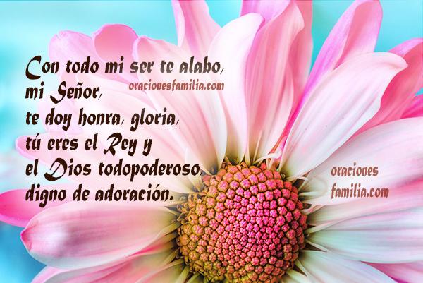 Oraciones de la mañana para tener un buen día, frases con oraciones cortas por Mery Bracho.
