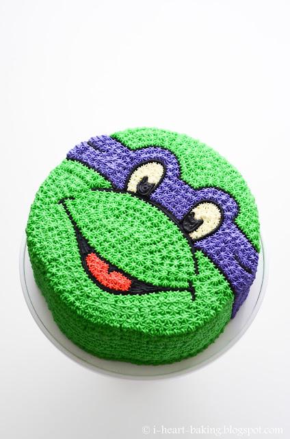 How To Make A Teenage Mutant Ninja Turtle Birthday Cake