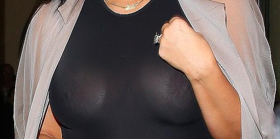 Untitled Photos: Kim Kardashian goes braless