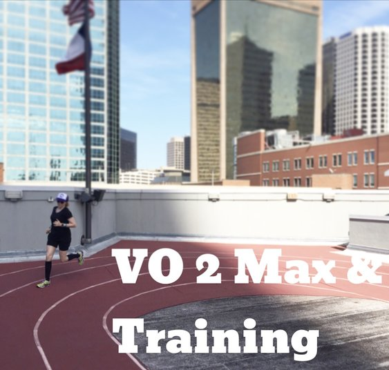 VO2 max running training speed improve