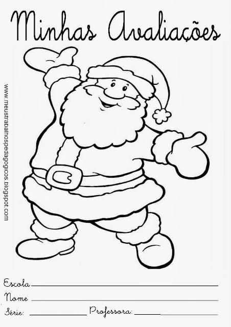 Capas de provas 4° bimestre Natal