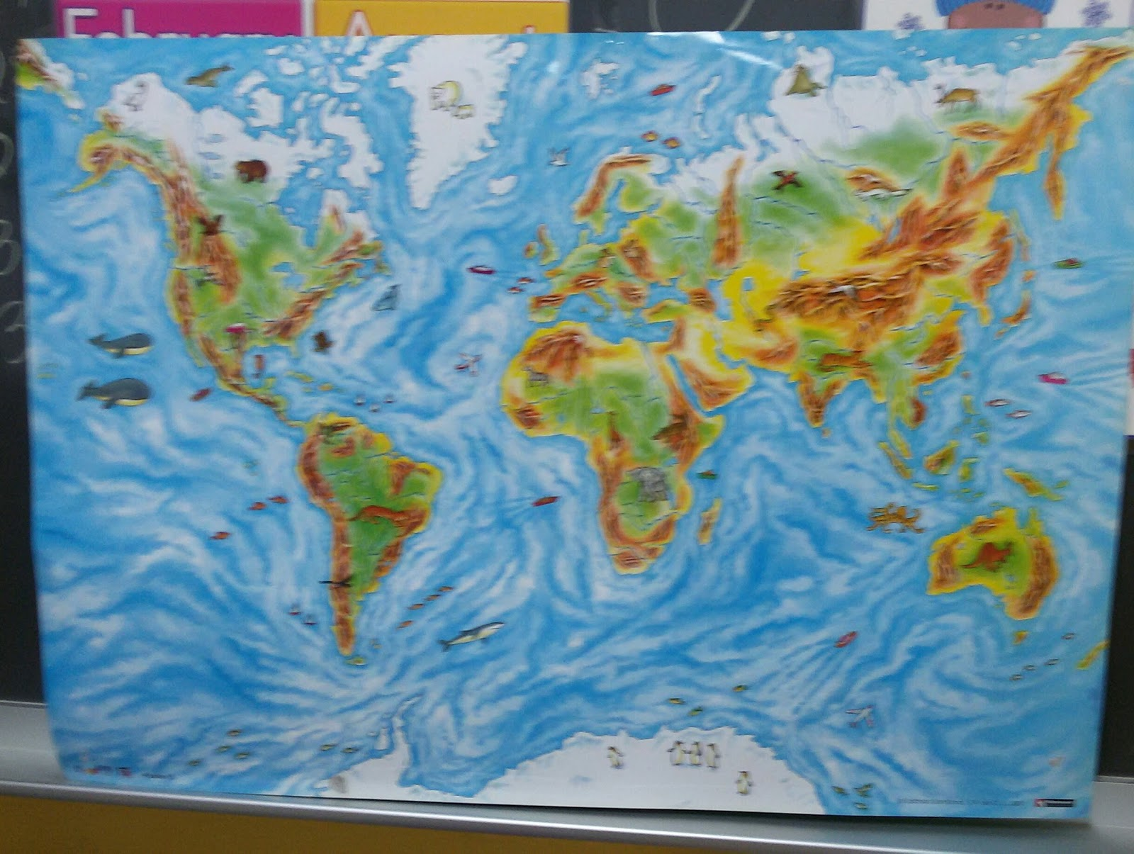 Science Blog Continents And Oceans
