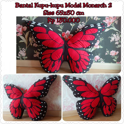 Bantal Kupu-Kupu Monarch 2