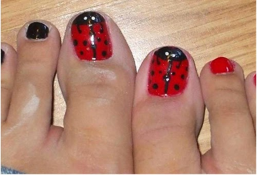 12 Nail Art Ideas For Your Toes - DIY Craft Projects