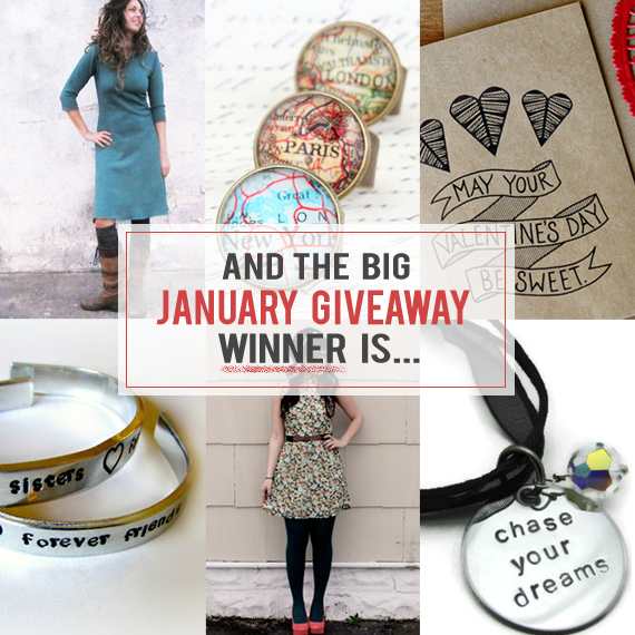 Bubby and Bean Big January Giveaway Winner