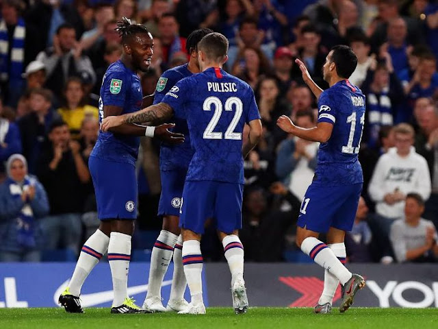 Piala Liga Inggris: Hajar Grimsby Town 7-1, Chelsea ke 16 Besar