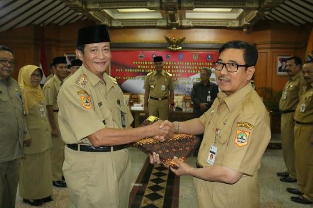 H.M Nursholeh M.Mpd Kembali Jabat Walikota Tegal