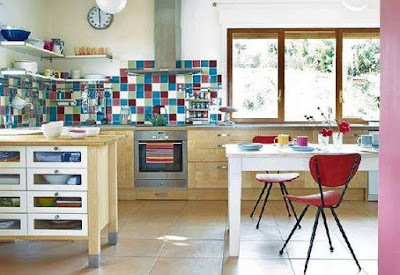 Desain Keramik Lantai Dapur Minimalis