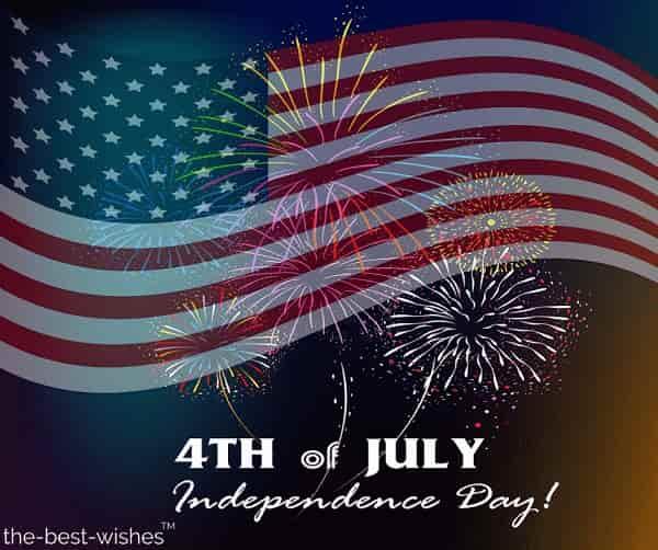 happy july 4th fireworks