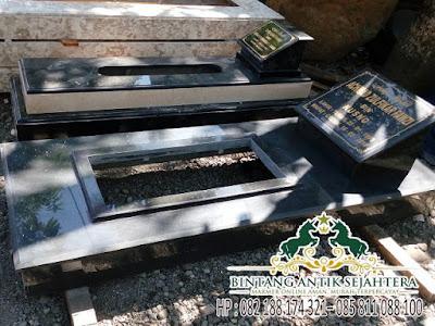Makam Bahan Marmer, Kuburan Makam Marmer