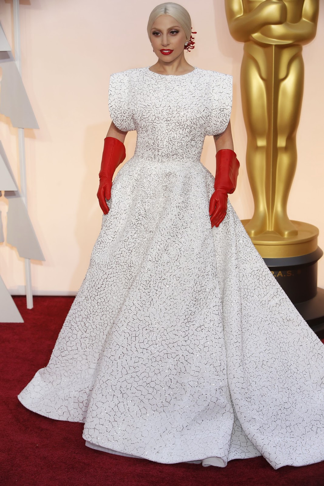 WHO WORE WHAT87th Annual Academy Awards Lady Gaga