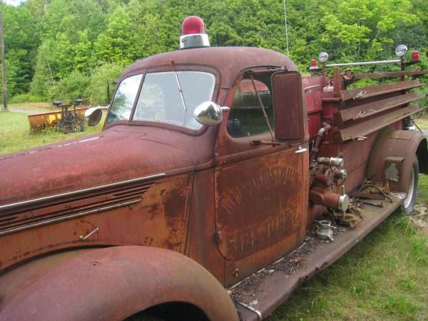 Restoration Project Cars: 1939 International Fire Truck ...