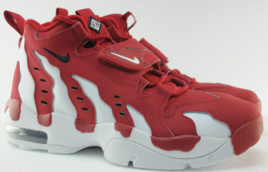 b2a08e9f0d This all new colorway of the Nike Air DT Max '96 is one of the first pairs  set to release in 2013. They come in varsity red, black and white featuring  a ...