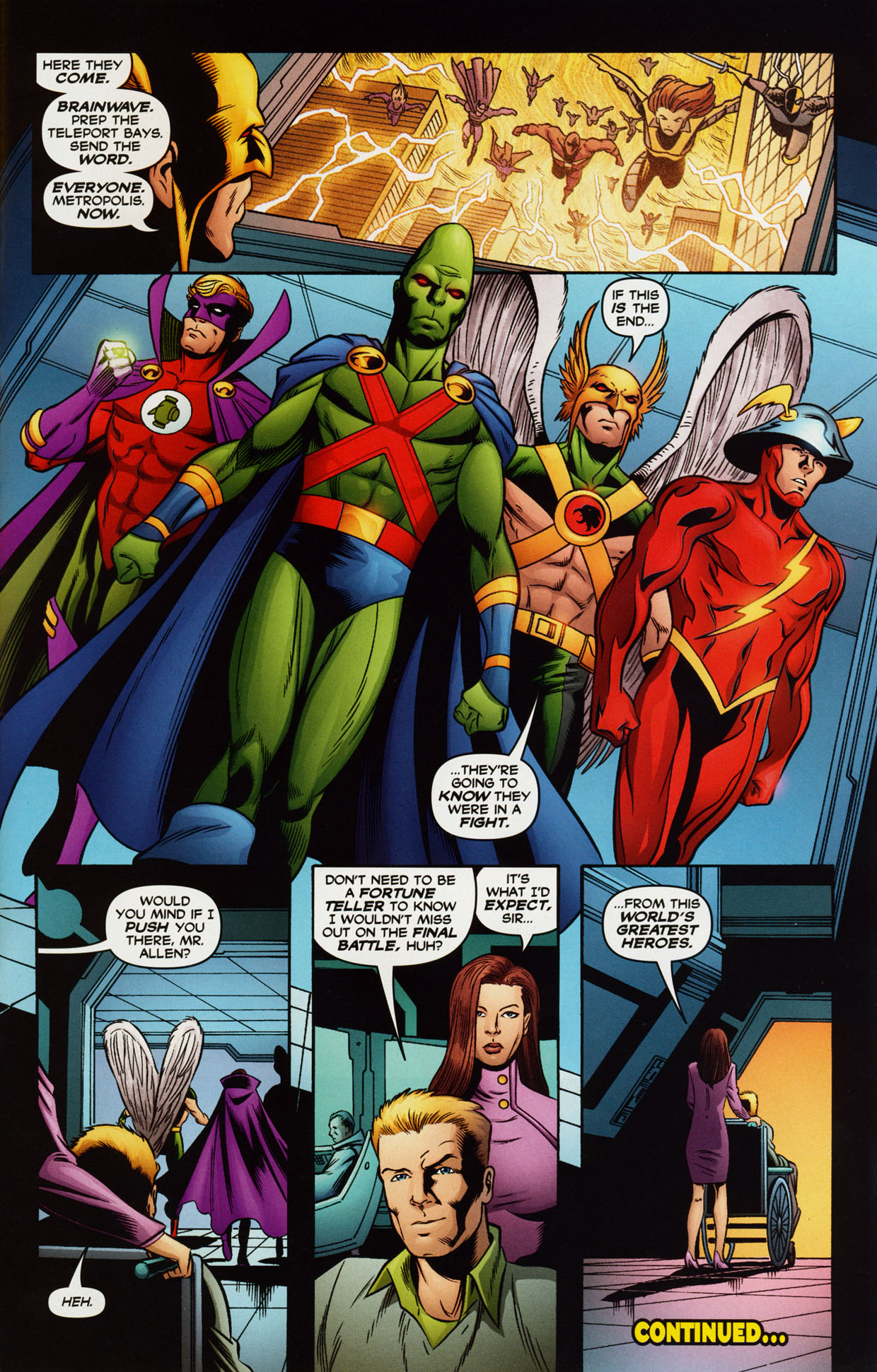 Read online Trinity (2008) comic -  Issue #38 - 30