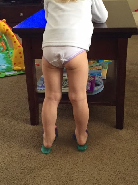 Within 2 3 Days She Had It Down And Havent Looked Back Since I Do Still Put A Diaper On Her At Night But She Doesnt Wear Diapers Through The Day Anymore