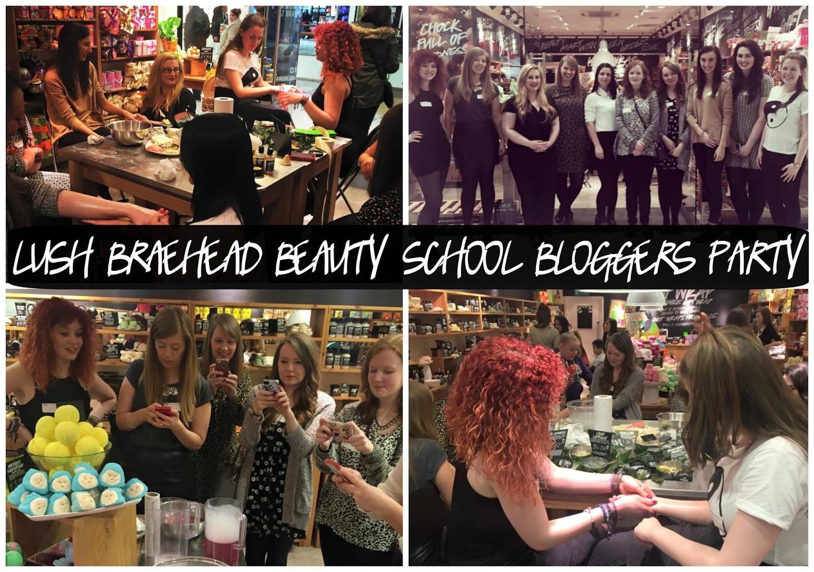 Lush Beauty School Bloggers Party