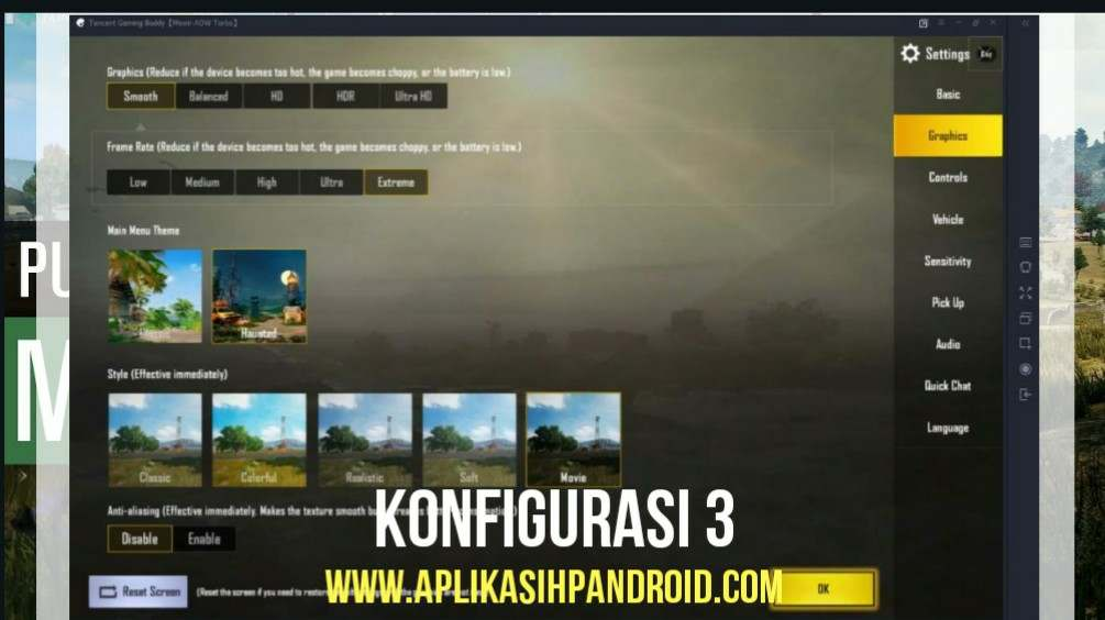 Cara Konfigurasi Game PUBG Mobile via PC pada Emulator 4