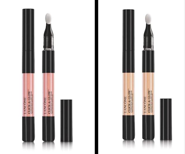 Lancôme, Click&Glow highlighter - Blog beauté