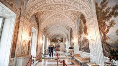 Residência papal em Castel Gandolfo é aberta ao público