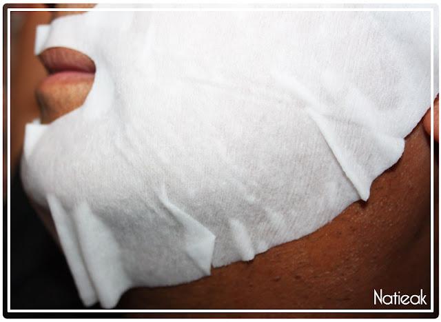 masque Wrap hydratant de Qiriness Men