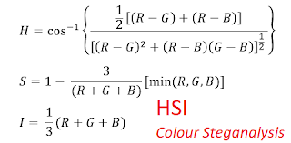 Algoritma HSI Colour Model Steganalysis