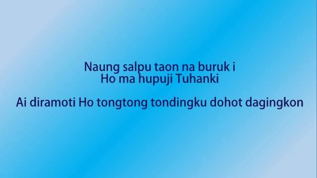 Lirik Lagu Naung Salpu Taon Na Buruk i dan Artinya