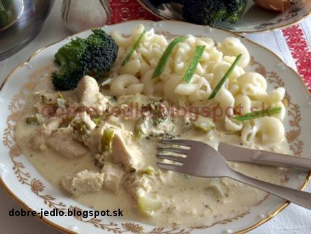 Kurací perkelt s brokolicou - recepty
