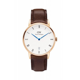 DANIEL WELLINGTON Ladies Dapper Bristol 34mm Rosegold