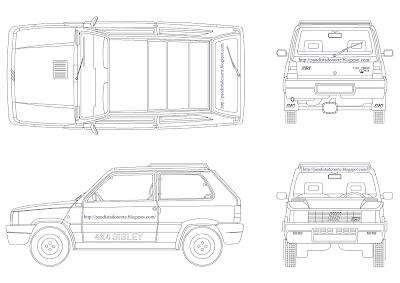 Pandista do Norte: Fiat Panda 141 e 141A (Uso e Manutenção)