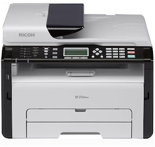 Since I impress a lot because of my studies together with my inkjet printer has given upwardly the ghost onc Ricoh SP 212SFNw Driver Download