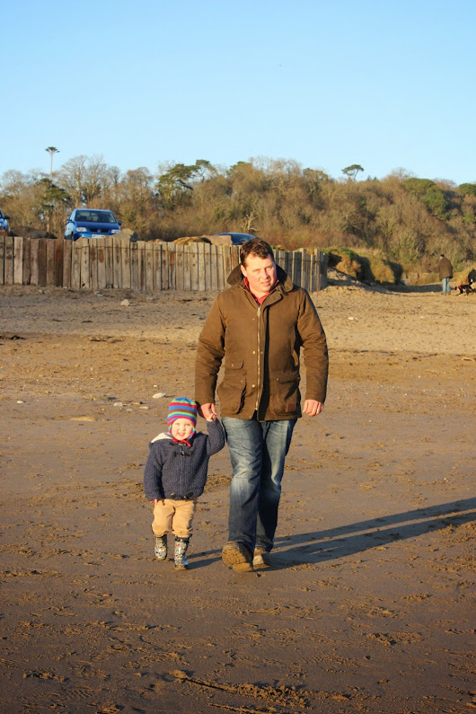 Days Out - Winter Sun at Caerhays Beach