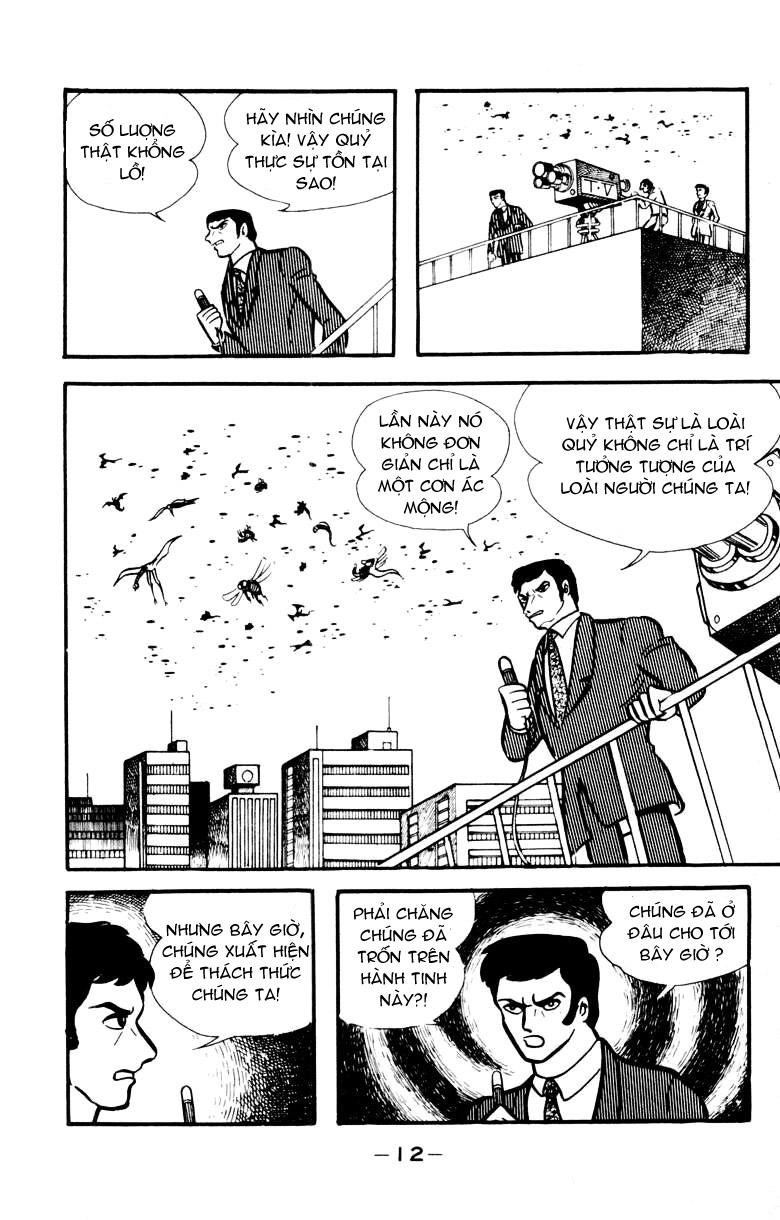 DevilMan chapter 17 trang 9